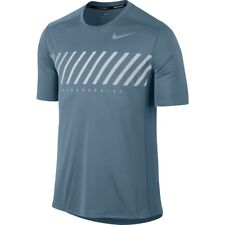 Nike Dry Miler Running Top Laufshirt, Gr. M, blau, NP 35 Euro, Neu!!!