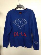 DIAMOND SUPPLY diamond life LOS ANGELES men's sweatshirt hoodie red nwot blue