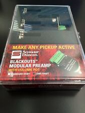 Seymour Duncan BMP-1 Blackouts Modular Preamp Long Shaft 11807-20-L