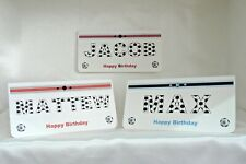 Personalised Birthday Money Wallet/Gift/Cheque/Voucher Football ThemeHandmade