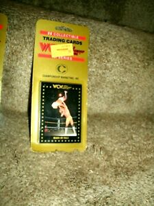 1991 WCW CHAMPIONSHIP MARKETING,INC 25 CARD BLISTER PACK UNOPENED FLAIR-N-LUGER
