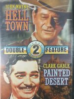 Hell Town & Painted Desert Double Feature DVD New