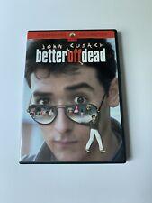 Better Off Dead (Dvd, 2002, Widescreen) John Cusack, Curtis Armstrong