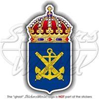 SCHWEDEN Schwedische Marine Wappen MARINEN Aufkleber, Vinyl Sticker
