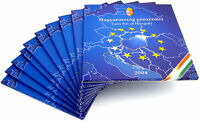 10x Ungarn 238 Forint 2004 PP KMS 1 Forint bis 100 Forint zum Beitritt im Folder