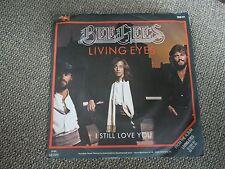 """Bee Gees Living Eyes RARE West German 7"""" Single"""
