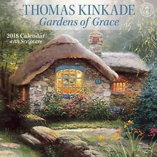 THOMAS KINKADE / Gardens of Grace - 2018 Mini-Calendar