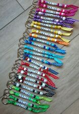More details for personalised handmade bead keyrings buy 2 get 1 free/class name school leavers