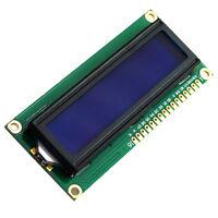 HD44780 1602 LCD Modul Display Anzeigen 16x2 Zeichen Blau for Arduino Neu^