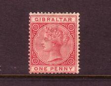 GIBRALTAR....  1886  1d rose mint, Sg9....cv £45