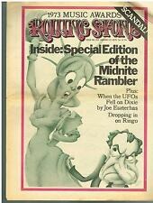 ROLLING STONE NEWSPAPER MAGAZINE - Issue 152 January 17 1974 MDNITE RAMBLER