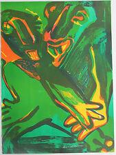 Bengt LINDSTROM Lindström - Lithographie lithograph signée Suède **