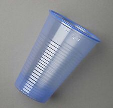 100 Blue Plastic Cups Glasses Water Vending Party 8oz