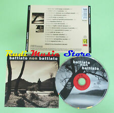 CD  FRANCO BATTIATO non battiato 1996 france CYCLOPE 529 206-2 (Xi2)no lp mc dvd