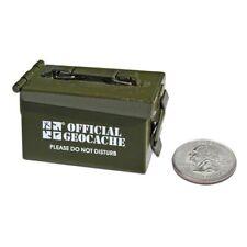 Micro Ammo Can Cache Container Geocaching Versteck Mini Groundspeak Nano Micro