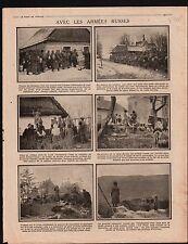WWI Infantry Russia Tranchée /Black Sea Bosphorus Marmara War 1915 ILLUSTRATION