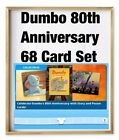 DUMBO 80th ANNIVERSARY-68 CARD SET-SUPER RARE POSTERS+TOPPS DISNEY COLLECT