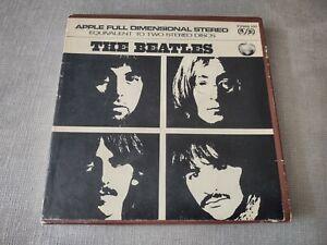The Beatles 4 Track Apple Y2WB 101  Reel to Reel Tape In Original Box Ampex