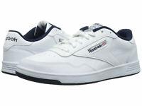 Men Reebok Lifestyle Club Memt V67513 White Navy 100% Authentic Brand New