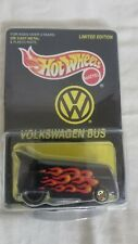 Hot Wheels 1997 Limited Edition All Tune Lube Vw Bus, Black, Nib W/ The Car Case