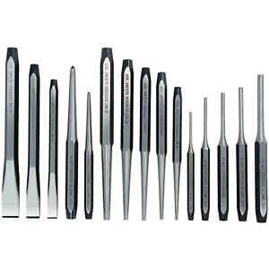 Trident Punch and Chisel Set 15pc