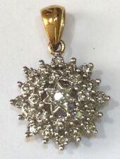 9ct Gold and Diamond Pendant