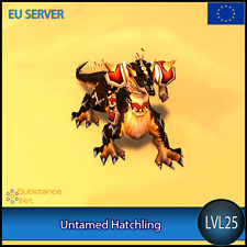 Untamed Hatchling lvl25 Pet | All Europe Server | WoW Warcraft Tier Loot