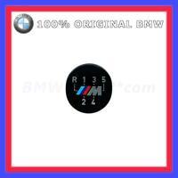 Original BMW M Emblem Plakette Schaltknauf Knob Sticker selbstklebend 5 Gang