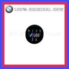 Original BMW M Emblema Placa Palanca de cambios Perilla Pegatina autoadhesivo