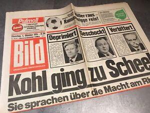 BILDzeitung  5.10.1976 Oktober 05.10.1976 Geschenk Geburtstag 43. 44. 45. Helmut