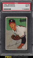 1952 Bowman Warren Spahn #156 PSA 7 NRMT (PWCC)