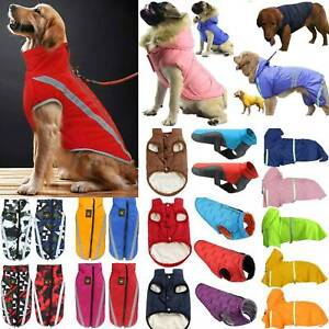 Pet Dog Thermal Warm Clothes Puppy Padded Vest Jacket Waistcoat Coat Apparel