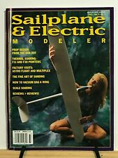 Sailplane & Electric Modeler - 3rd Complete Year - 6 issues -R/C Airplane Glider