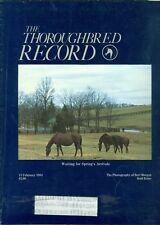 1984 Thoroughbred Record Magazine: Waiting for Spring/Bert Morgan Photos