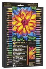CHAMELEON COLOR TONES - 25 TWIN TIP COLOUR PENCILS - SUPPLIED IN STORAGE CASE