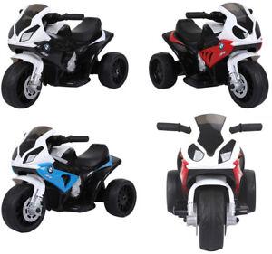 Kleines BMW S1000RR Elektromotorrad Kindermotorrad Kinderfahrzeug Dreirad SALE !