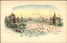 1900 Universelle Expo Paris Champ De Mars Postcard