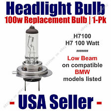 Headlight Bulb Low Beam 100 Watt Upgrade 1pk - Fits BMW Models Listed - H7 100
