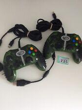 Madcatz Verde Xbox controladores Transparente 2x