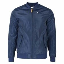 Lambretta Classic Lightweight MA1 Bomber Jacket Coat Navy Blue 3XL SS1781 Sale