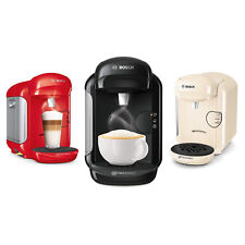 Bosch Tassimo Pod Coffee Machine Vivy 2, 1300W, 0.7L - One Button Operation
