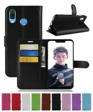 For Huawei Honor Play Litchi Magnetic Card Wallet Flip Leather Skin Cover Case