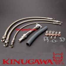 Top Mount Turbo Oil Water Line For Nissan RB20DET RB25DET w/ GT30R GT35R B.B