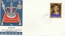 (86069) Barbuda Philart FDC Kings & Queens Henry III - 1 June 1970