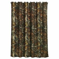 HiEnd Accents Oak Camo Shower Curtain Camouflage New in Package