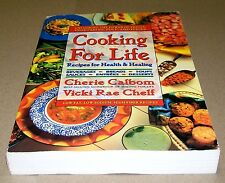 Books, Cooking For Life Cookbook, Recipes for Health & Healing