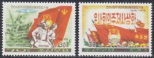 Korea (N) - 1976 - MNH - (Set 1465-1466) Propaganda