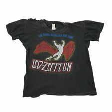 """Vintage Led Zeppelin """"The Song Remains The Same"""" T-Shirt Zoso Robert Plant Rock"""