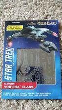 Fascinations Metal Earth 3d kits Star Trek Klingon VOR'Cha Class #mms283 *NEW*
