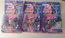 B.M. Xtreme Pepsi Sunco Moc 3 Bmx Die Cast Metal Bike Frame MOC
